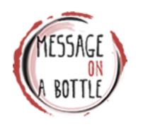 Logo Message On a Bottle