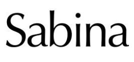 logo Sabina Store